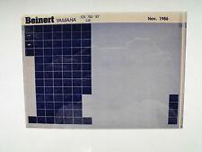 Yamaha FZX 750 Bj 1987 Microfilm Catalogue des pièces Pièce rechange Liste