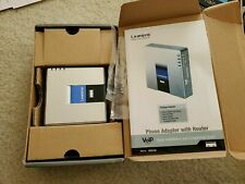 Linksys Cisco SPA2102 VoIP Phone Adapter with Router