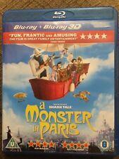 Un monstre à Paris 2 Disc Blu-ray + Blu-ray 3D