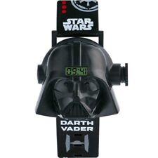 Reloj de pulsera Proyector de imágenes de Darth Vader Star Wars Digital Reloj Nuevo de tiempo
