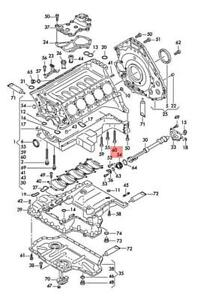 Genuine AUDI A6 Avant S6 quattro A8 S8 4E2 4E8 4F2 4F5 Bracket 07L103329H