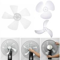 "Plastic Propeller Fan Blade 3/5 Leaves for Pedestal Stand/Table Fanner 12/16"""
