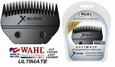 WAHL ULTIMATE COMPETITION  X-BLOCK BLADE Blocking*Fits Most Oster,Andis Clippers