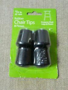 Waxman Rubber Chair Tips 4 Piece 7/8 in. 22mm