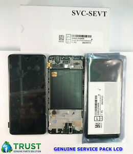 GENUINE SAMSUNG A51 A515 LCD SERVICE PACK NEW BLACK ORIGINAL SCREEN DISPLAY