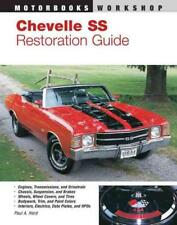 CHEVELLE SS RESTORATION GUIDE/1964-72 - HERD, PAUL A. - NEW PAPERBACK BOOK