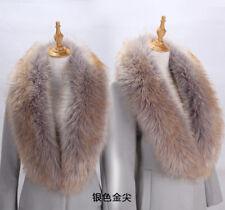 Womens Faux Fur Collar Scarf Shawl Ladies Wrap Stole Long Winter Neck Warmer