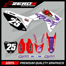 HONDA CR125-250 2004-2007 CRF250-450 2004-2020 MOTOCROSS MX GRAPHICS KIT TROY
