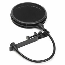 LyxPro MOP-28 Dual Layer Microphone Pop Filter with Flexible Goozeneck