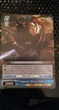 Temporary Alliance, Kirito -SAO/S47-E077R RRR Weiss Schwarz Sword Art Online
