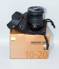 Nikon 10-20mm AF-P 1:4.5-5.6G DX (Minty Fresh!)