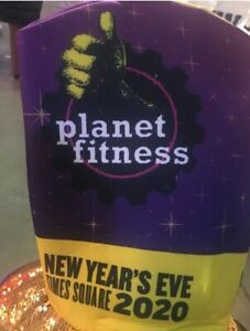 Planet Fitness Times Square New Years Eve 2020 Hat York Celebration NYC
