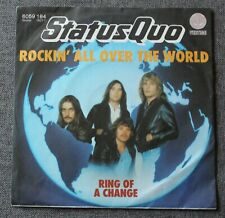 Status Quo, rockin all over the world / ring a change, SP - 45 tours Germany