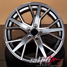"""21"""" 1332 Sq7 Style Gunmetal Wheels Fits Audi Q7 VW Touareg Porsche Cayenne"""