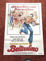 Besonderes Kennzeichen: Bellissimo Kinoplakat Poster A1, Adriano Celentano