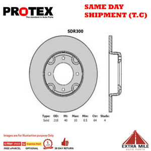 Ultra Select Front Rotor Pair For NISSAN PULSAR N10 1.4L 1980 - 1981