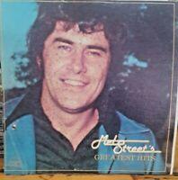 Mel Street ~ Mel Street's Greatest Hits 2 LP Set 70s Country Music Vinyl Record
