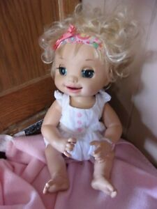 """Rare Baby Alive Doll 2007 """"Learn to Potty"""" Hasbro - Anatomically correct  works"""