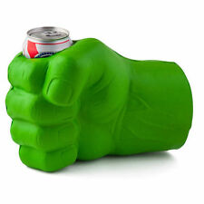 THE BEAST GREEN FIST BIG HAND  NOVELTY BEER BOTTLE CAN STUBBY STUBBIE HOLDER