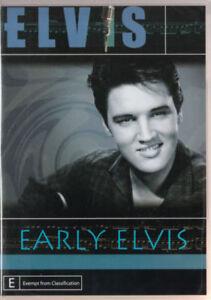 Elvis Early Elvis DVD New Sealed Australian Release