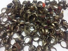 40 PCs Ring ANTIQUE Afghan Kuchi Banjara Ethnic Old Antique Nomad Wholesale