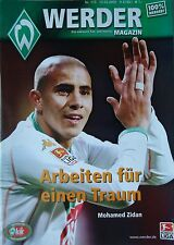 Programm 2004/05 SV Werder Bremen - FSV Mainz