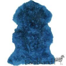 Tapis bleu pour la chambre