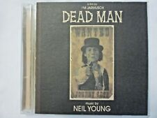 DEAD MAN Soundtrack CD with Music by Neil Young Poetry Reading by Johnny Depp