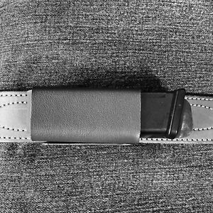 Safe2Fire Horizontal Mag Pouch For G19, G23 & G44 - For Std OEM Flat Base Plate