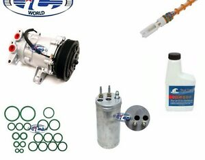 A/C Compressor Kit Fits Jeep Liberty 2002-2005 V6 3.7L OEM SD7H15 67576