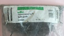 One bag of Wilko round wire nails bulk pack 40mm