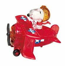 New Beverly Crystal 3D Puzzle 50182 Peanuts Snoopy Flying Ace