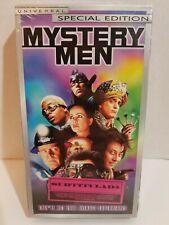 Mystery Men ( Vhs ) New Factory Sealed Ben Stiller Special Edition