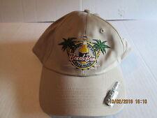 Hat Cap No Shirt Shoes Problem Palm Tree Tan with Bottle Opener