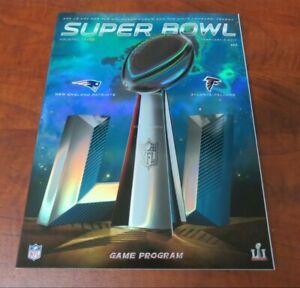 NFL 2017 Super Bowl LI Game Program New England Patriots vs. Atlanta Falcons