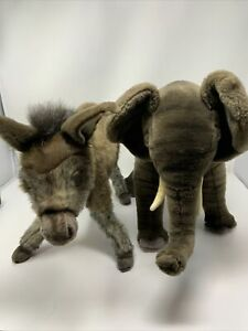HANSA COLLECTION - ELEPHANT and DONKEY