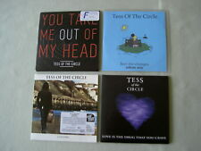 TESS OF THE CIRCLE job lot of 4 promo CD singles You Take Me Out Of My Head