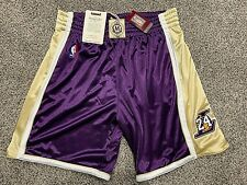 Authentic Kobe Bryant Lakers Mitchell & Ness Hall Of Fame Jersey Shorts IN HAND