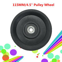 Universal Aluminum / Nylon Bearing Pulley Wheel Cable Gym Fitness Equipment Part