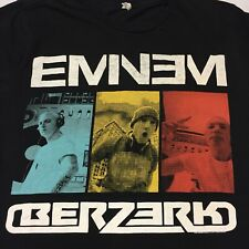 Eminem Black Small T-Shirt Rap Hip Hop Real Slim Shady Detroit Berzerk 8 Mile