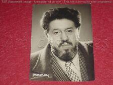 [Coll. BESNARDEAU] CINEMA - SPECTACLE/ MICHEL SIMON Argentique PARMOY 1940 18x13