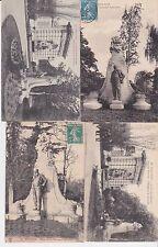 Lot 4 cartes postales anciennes TOULOUSE monument d'armand sylvestre