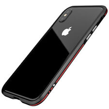 iPhone X Case, Luphie Aluminum Metal Bumper Frame for Apple iPhone X