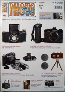 PHOTO DEAL 61 Ica Goerz Leica Orwo Niépce Exakta Konica Zeiss Agfa Minolta Canon
