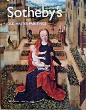 Sotheby's Catalog IMPORTANT OLD MASTER PAINTINGS 5/2003 New York