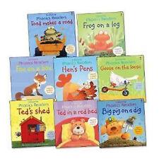 Usborne Phonics Readers Pack, 8 books, RRP £39.92 Book Paperback