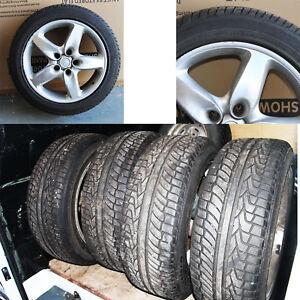 """4 x Porsche Cayenne 20"""" accelera eloise iota 4x4 tyres rims 255/50r20 xl 255"""