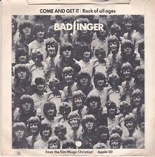 BADFINGER COME AND GET IT / ROCK OF ALL AGES APPLE RECORDS 20 UK 1969 UK PRESS