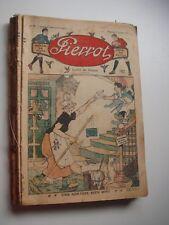PIERROT - LE RALLIC - 1929 -QUATRIEME ANNEE -LOT du n°2 au 25 sauf les n°5 et 13