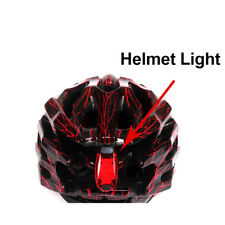 BIKEIN Mountain Bike Night Riding Lamp 3 LED Safety Helmet Flash Light Seatpost